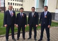 Сотрудники Минимущества КЧР приняли участие в праздничных мероприятиях, приуроченных к празднованию 74-ой годовщины победы в Великой Отечественной Войне