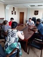 Министр имущественных и земельных отношений КЧР Дмитрий Бугаев встретился с руководителями управляющих организаций многоквартирными домами