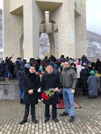 Коллектив Минимущества КЧР принял участие митинге, посвященном 76 -ой годовщине депортации карачаевского народа.
