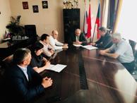 И.о. Министра имущественных и земельных отношений КЧР встретился с Главой администрации Абазинского района