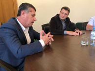 И.о. Министра имущественных и земельных отношений КЧР обсудил ряд вопросов с Главой администрации Хабезского района