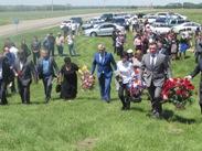 Министр имущественных и земельных отношений КЧР Евгений Гордиенко принял участие в митинге посвященному 151-й годовщине окончания Кавказской войны