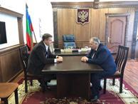 10 сентября состоялась встреча Министра имущественных и земельных отношений КЧР и Главы администрации Прикубанского муниципального района  по вопросам земельных отношений