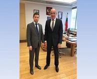 Встреча с руководителем Росимущества по вопросу рационального использования земель